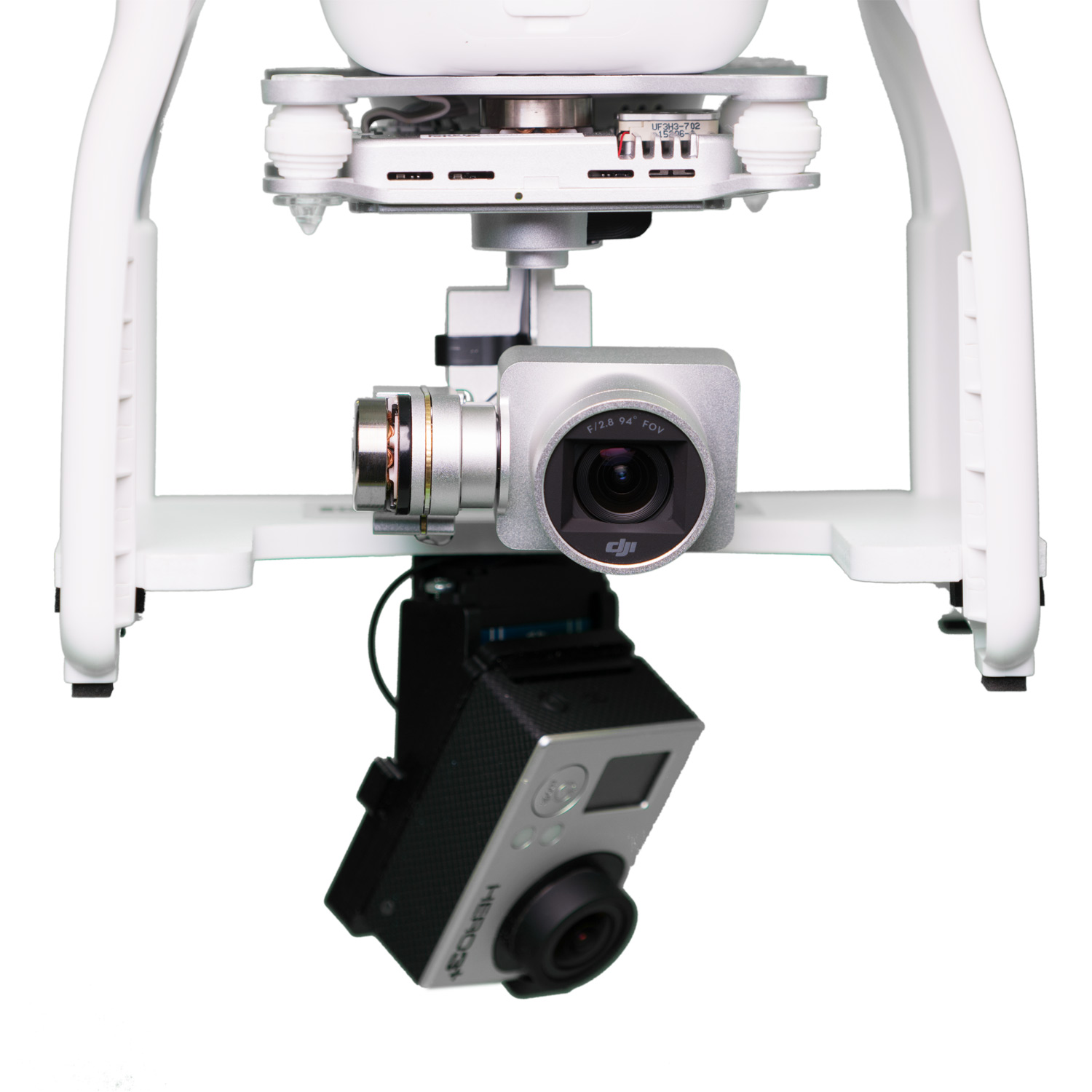 Подвес 360 GoPro Panorama head для DJI Phantom 3
